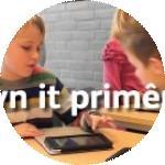 Groepslogo van Frysk yn it primêr ûnderwiis: opfolger Studio-F